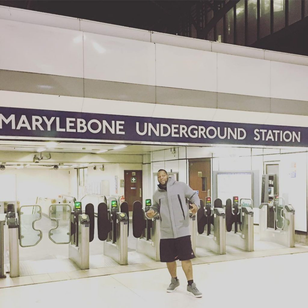 Live from the Underground! #londontown