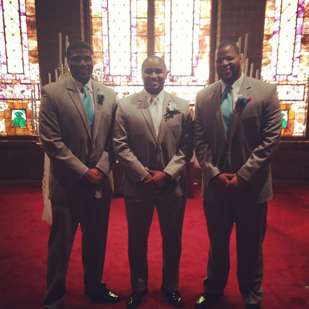 Happy to see my Bros! #MarriedLife #Family  @txhusker34 @harveyscizz