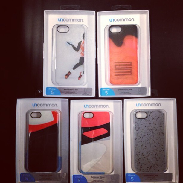 iPhone 5 case swag, all love! @sneakerst #cement #jumpman #bred
