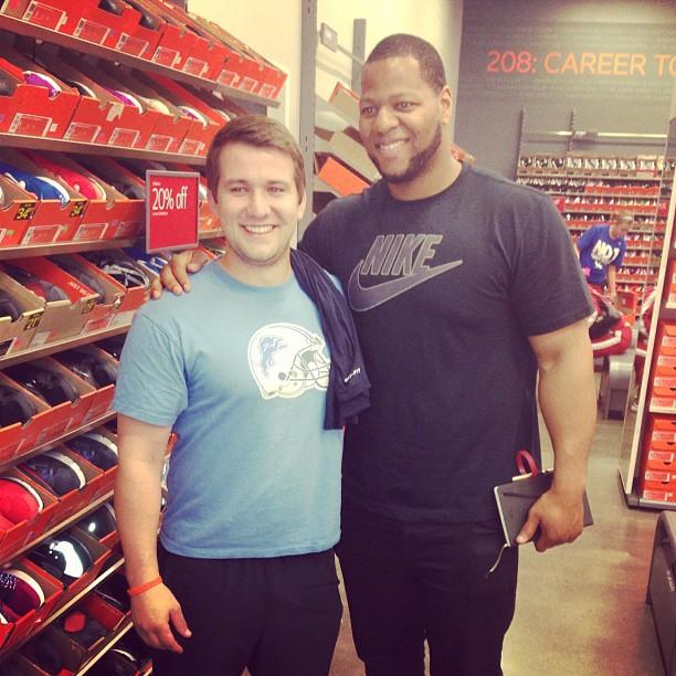 #Kentucky Grown , #Lions fan at heart!  #Nike #NikeFactoryStore