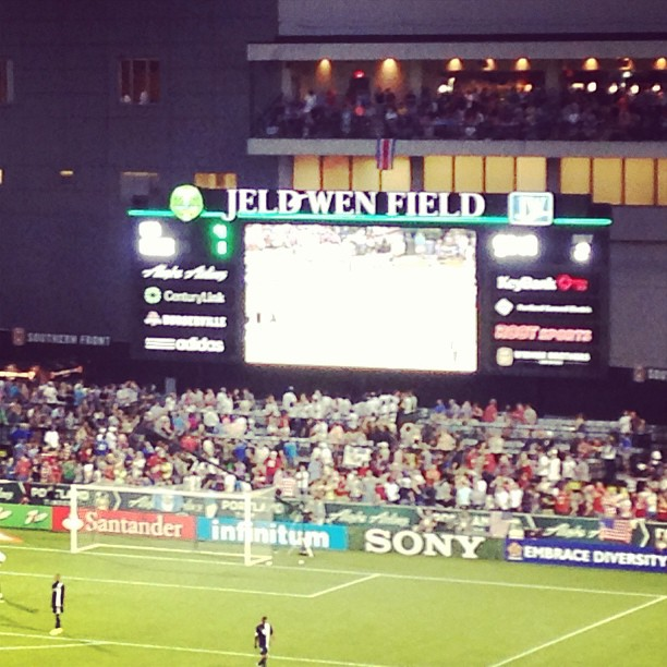 Great #Football game  #USA vs Belize Score 4-1  #PDXNights