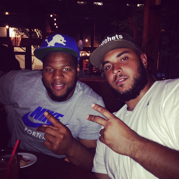 Happy Birthday to my Bro!  #TurnUp is about to start shortly!!!!!!!!!!!!! #PDX