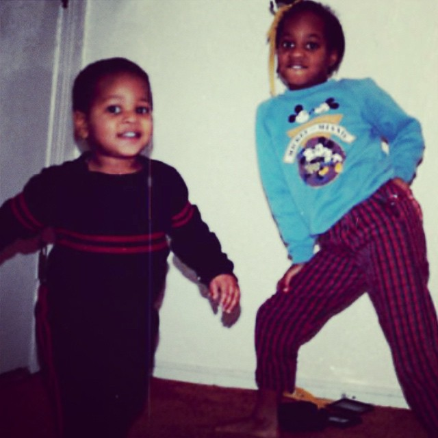 #Swaggin with my older sister @ngumsuh back in the day lol #TBT
